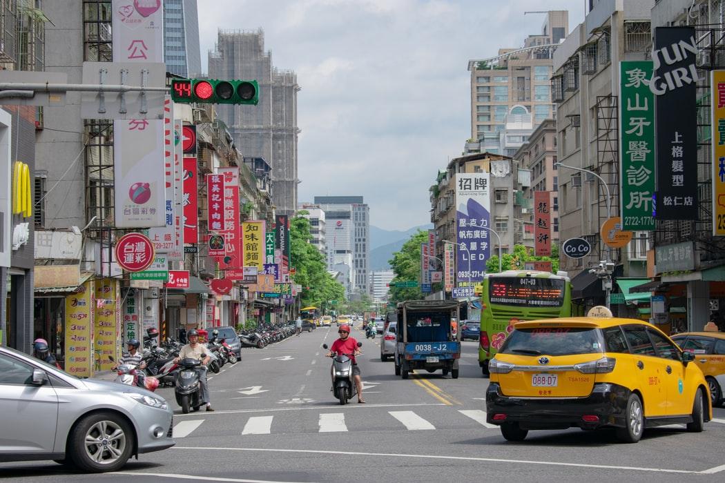 台湾、あっつーい!