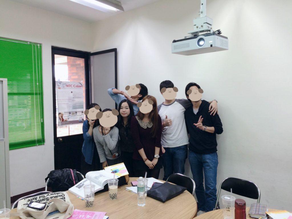 ①華語講師経験10年以上